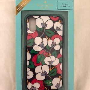 NIB Kate Spade iPhone XS/X Case in Breezy Floral